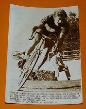 PHOTO PRESSE CYCLISME 1971 TOUR DE L'AVENIR JOSEF FUCHS SUISSE WIELRENNEN