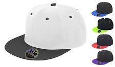 Unisex Bronx ORIGINALE APPARTAMENTO picco DOPPIO COLORE Cappello da baseball