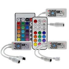 Wifi RGB/RGBW LED Controller Mini DC12V With RF 21Key/IR 24Key Remote Controller