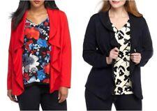THE LIMITED® Plus Size 1X, 2X, 3X Ruffle Ponte Jacket NWT $129