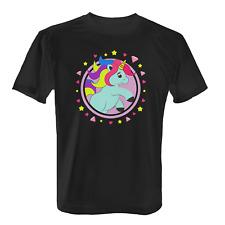 Baby Einhorn Herren T-Shirt Fun Shirt Unicorn Stern Herz Diamant Geschenk Idee