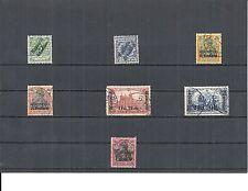 Marokko, DAP, 1899 - 1919, Einzelmarken aus MiNrn: 1 - 58 o, gestempelt o