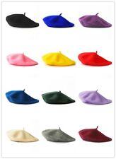 NEW Fashion Wool Warm Girls Women French Classic Beret Beanie Slouch Hat Cap Tam