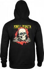 "Powell Peralta ""Ripper"" Skateboard Sweat à Capuche Noir Sweat à Capuche S-XXL capuche"