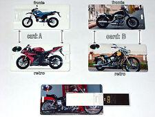 CHIAVETTA A FORMA CARTA PORTAFOGLIO 4-16GB PENNA/USB 2.0/PEN DRIVE/MOTO/CROSS/