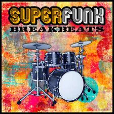 SuperFunk Breakbeats Drum loops (WAV AIFF rex2) Reason Logic Cubase fl studio