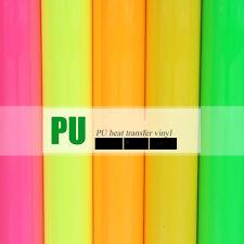 "A4 Sheet 8""x11"" PU Heat Transfer Vinyl Iron-on Fabric Tshirt Press Cutter Film"