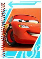 DISNEY Pixar Cars McQueen QUADERNO A5 diario Jotter Pad Indietro A Scuola fermo