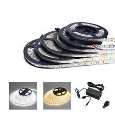 5M 5630 LED SMD Streifen Set Strip Band 300LEDs Warmweiß Kalteweiß + 5A Netzteil