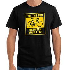 Put the fun between your legs | Bike | Fahrrad | Sprüche | Fun | S-XXL T-Shirt