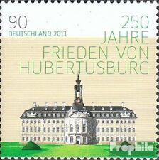 BRD 2985 (kompl.Ausg.) postfrisch 2013 Frieden von Hubertusburg