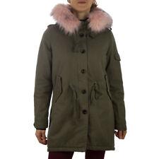 Cappotti e giacche da donna verde in poliestere con bottone  45acb4eab81