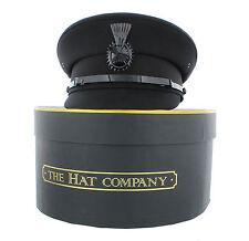 Cappello autista in Nero O Grigio Con Scatola Di Immagazzinaggio opzione dal Hat Company