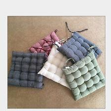 Jacquard Cushion Pillow  Seat Pad  Stripe Flocking 40x40cm Home Decor  1PC/Bag