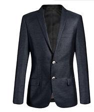 Elegante abito vestito completo uomo grigio lucido giacca pantalone  SLIM 1015