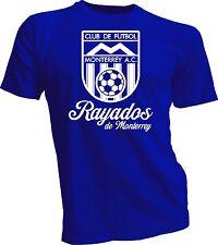 Rayados de Monterrey Mexico Retro 70 futbol soccer t shirt jersey camiseta
