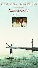 Awakenings (VHS, 1991, PG 13) Robert De Niro, Robin Williams-Free Shipping