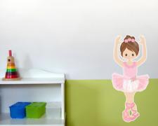 Wandtattoo Ballerina Ballet Tanz Dance Kinderzimmer Wandaufkleber Baby 6 Größen
