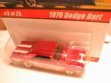 Hotwheels classics series 1  #3 1970 DODGE DART  pink