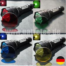 Gatzetec farbige Taschenlampengläser 41,5 mm für Ultrafire C8 - C12 und andere