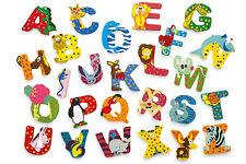 Holzbuchstaben Tiere