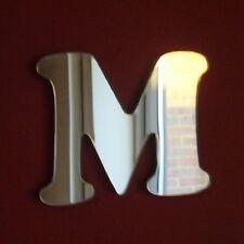 Funky Lettre M Miroir acrylique