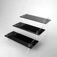 3 Piani Acrilico Display Stand, negozi, bancarelle, negozio, casa, camera da letto, 37 COLORI