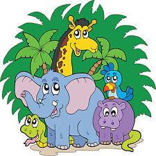 Stickers enfant Animaux de la jungle réf 3690