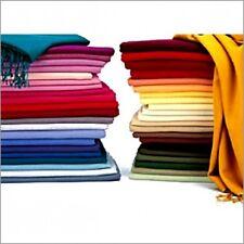 Trendy haute qualité uni 100% viscose pashmina foulards-uk vendeur