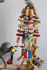 """PAPPAGALLI giocattoli """"Koko"""" Rosicchiala Divertimento & FUNNY Shredder 100 Pezzi Campanello ♫♪ ♪♫"""