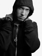 Eminem Hoodie Hip Hop Rap Music Singer BW Rare Huge Giant Wall Print POSTER