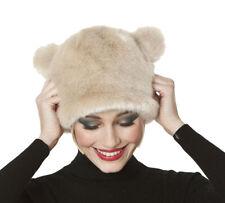 Da Donna in Finta Pelliccia Novità Beanie con orecchie caldo inverno cappello alla moda TERMICA Tilly