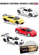 RC Radio Remoto Controllato Sports Cars scala 1/24 Ferrari, Audi Auto Giocattolo Nuova Regalo