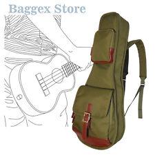 "23"" Concert Ukulele Gig Bag Custom Fit Stylish 900D Polyester Instrument Case"