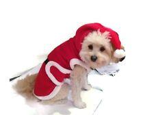 Dog Santa Claus Costume Pet Puppy Christmas Clothes Xmas Coat Apparel Dress Up