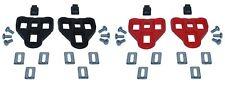 CALE CHAUSSURE COMPATIBLE SYSTEME LOOK DELTA ROUGE NOIR CALES PAIRE VELO COURSE