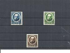 Bayern 1916, Einzelmarken, Auswahl aus Michelnrn.: 94 II A - 115 A o,gestempelt