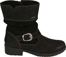 SUPERFIT Schuhe Stiefeletten schwarz GORE TEX  echt Leder Reißverschluss NEU