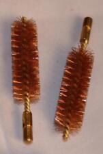 Black Powder Muzzleloading Bronze Bore Cleaning Brushes 2 Pak .32-.75 8/32,10/32