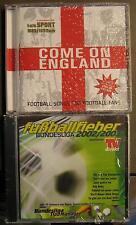FUSSBALL CD PAKET - 2 CD PAKET EM PARTY - COME ON ENGLAND + FUSSBALLFIEBER 02/03