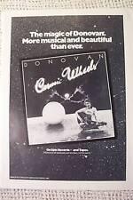 DONOVAN COSMIC WHEELS VINTAGE  AD 1973