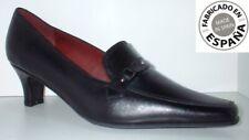 Zapato tacón Piel tallas 38 y 39