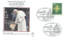 Germany 1987 John Paul II Pope Papst Papież (87/43)