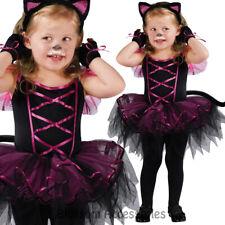 CK614 Little Miss Catarina Cat Animal Costume Girls Toddler Dress Up Book Week