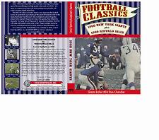 1960 New York Giants Highlights &1960 Buffalo Bills Highlights BOTH on one DVD!
