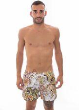 JUST CAVALLI - COSTUME SHORT - E6B640220-181 - WHITE/YELLOW