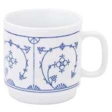 Kahla Blau Saks Kaffeebecher, Kaffee, Becher, Tasse, Porzellan Blau Saks, 300 ml