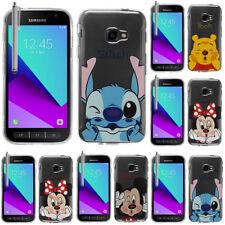 SILICONE TPU mobile Housse de protection CARTOON DISNEY Samsung Galaxy Xcover 4