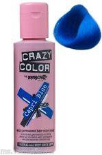 Crazy Color Semi Permanent Hair Tint Capri Blue 44 Colour 100ml