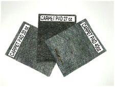 "40 oz Carpet Padding Automotive Trunk Insulation Jute 36"" Wide Auto Under Pad"